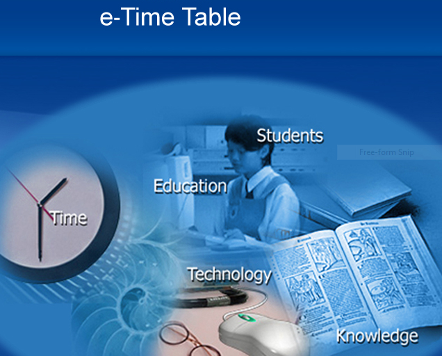 Institute time table Manager